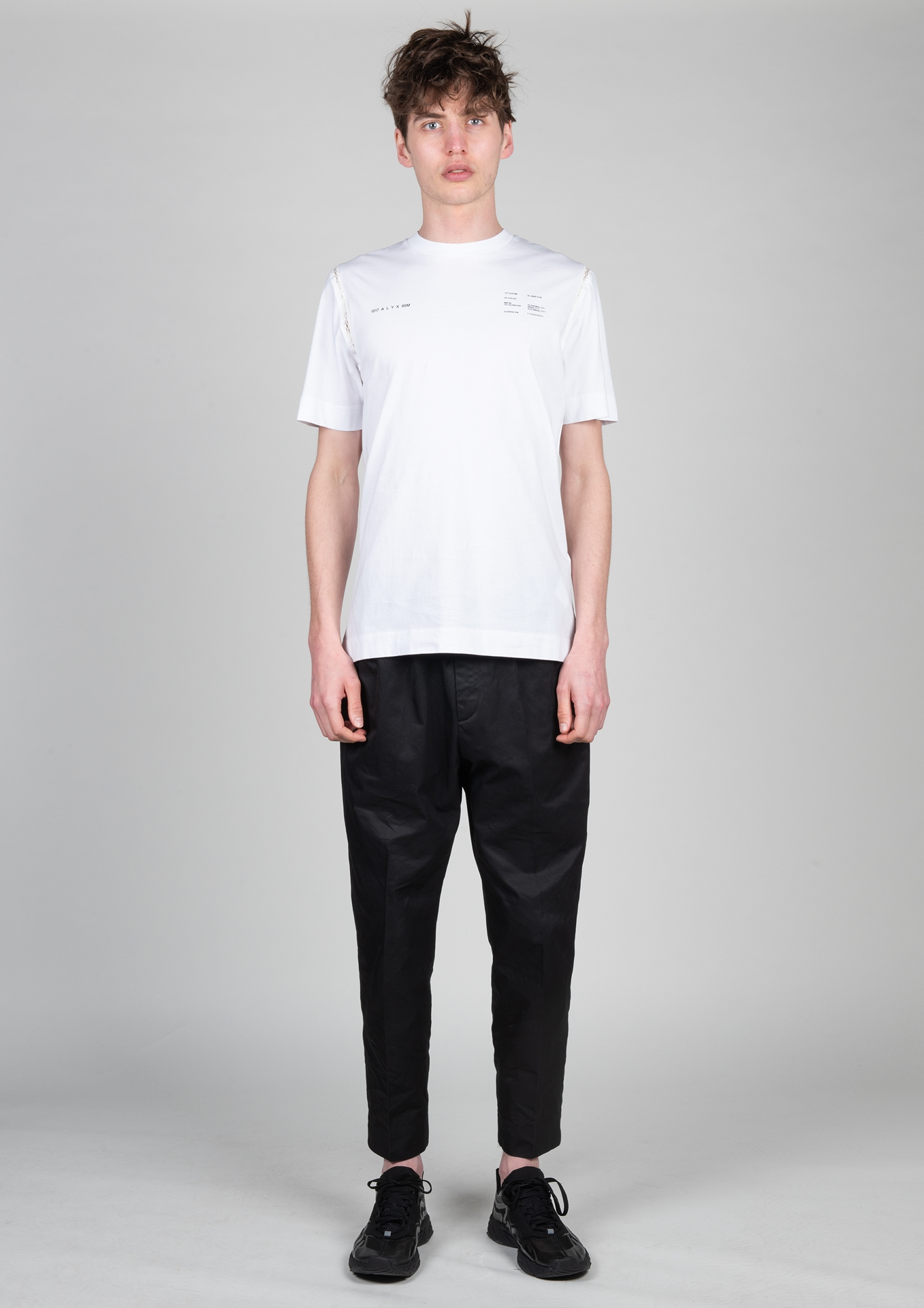 H T-Shirt AAMTS0205 Größe: M Farbe: WHITE