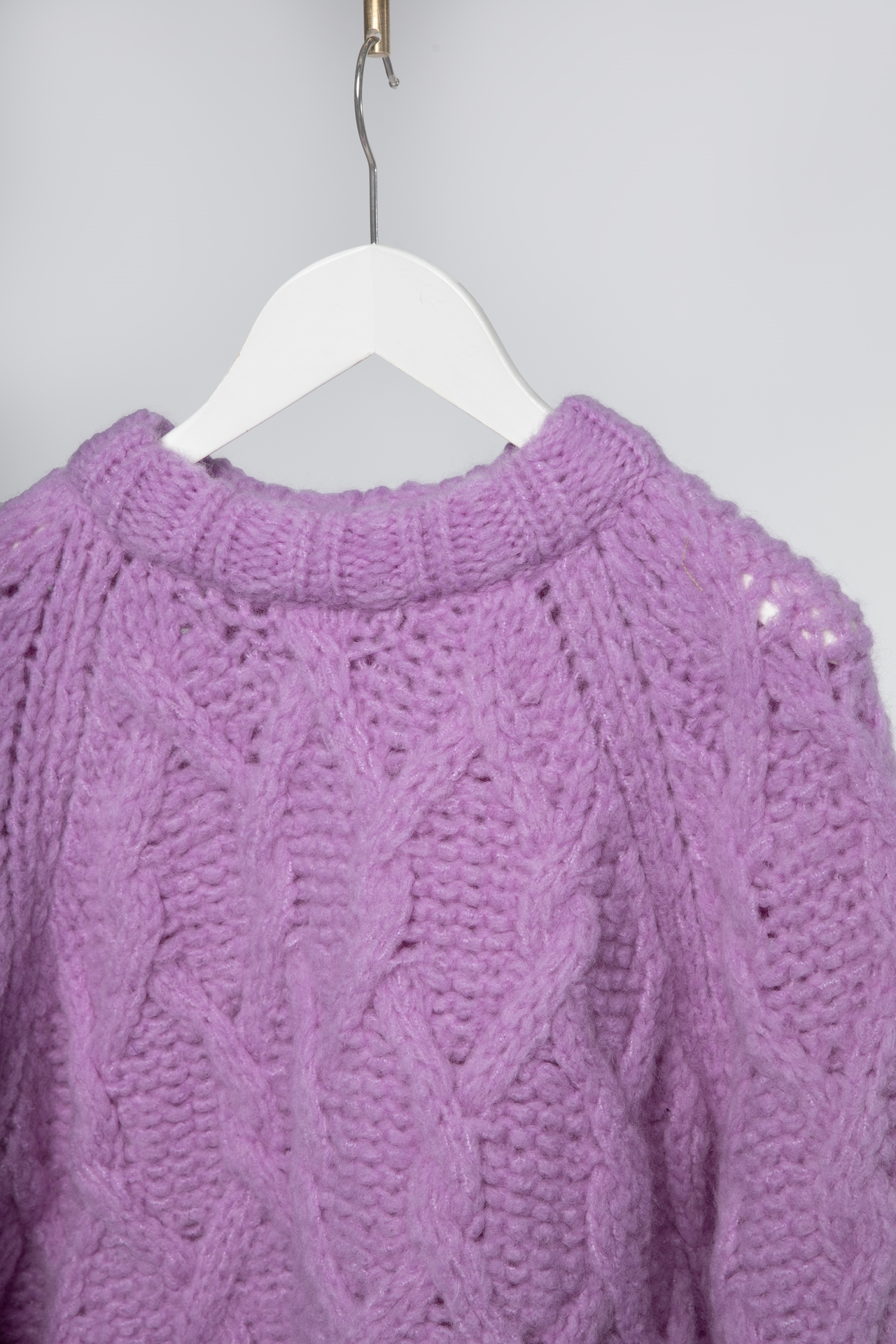 D Pullover KNIT000368 Größe: XS Farbe: lilacpur
