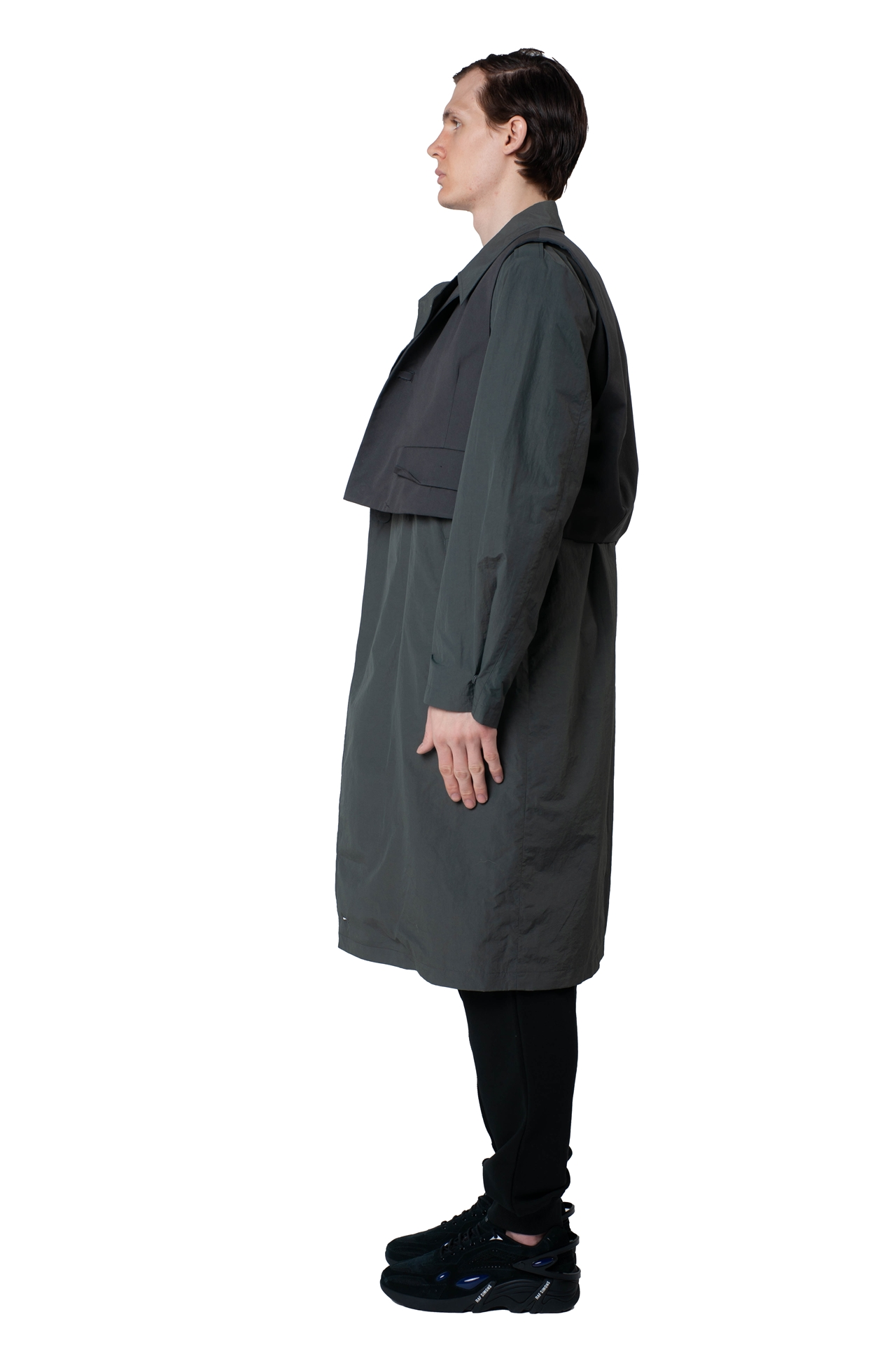 H Trenchcoat BKASSTC02CC Größe: A2 Farbe: charcoal
