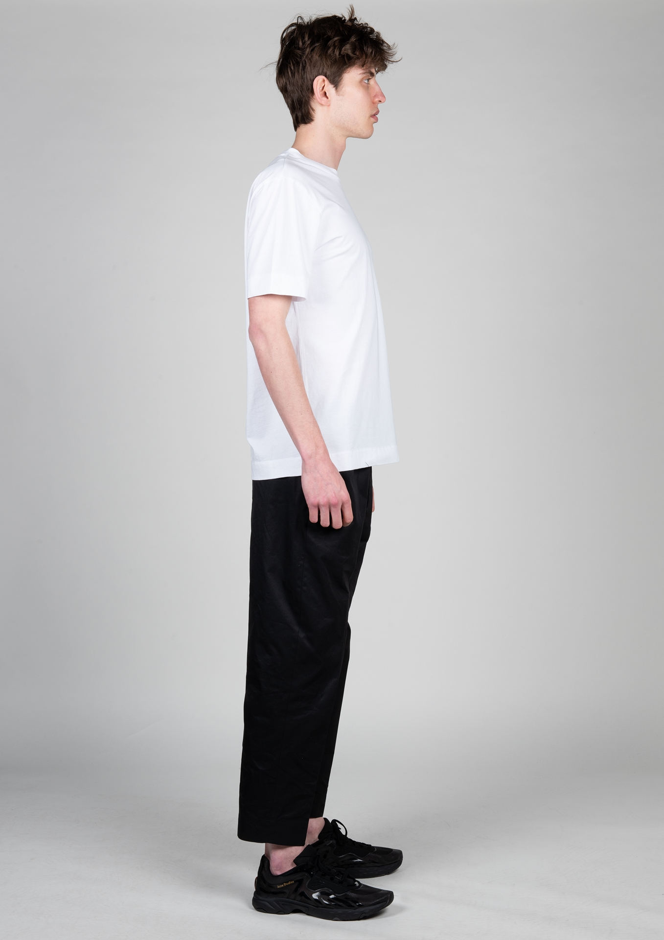 H T-Shirt AAMTS0225 Größe: M Farbe: white