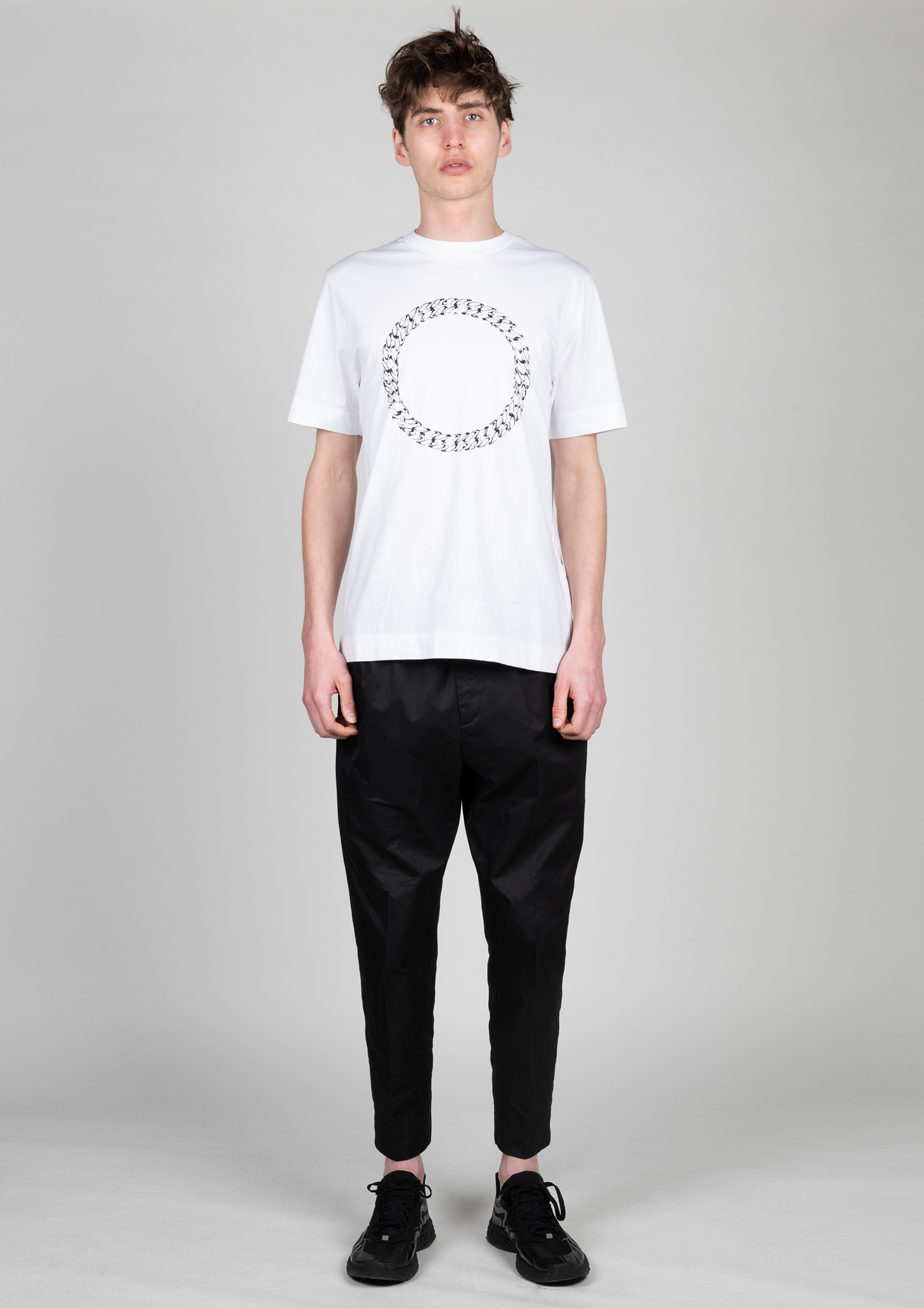 H T-Shirt AAMTS0222 Größe: L Farbe: white
